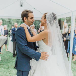 This backyard wedding is full of so many sweet moments and DIY touches - don't miss it!