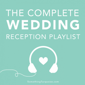 The complete wedding reception playlist on Spotify, listen for free!