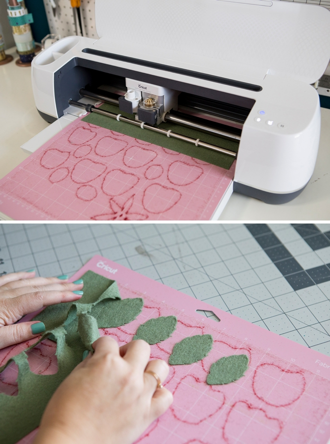 How to cut felt flowers using your Cricut Maker!