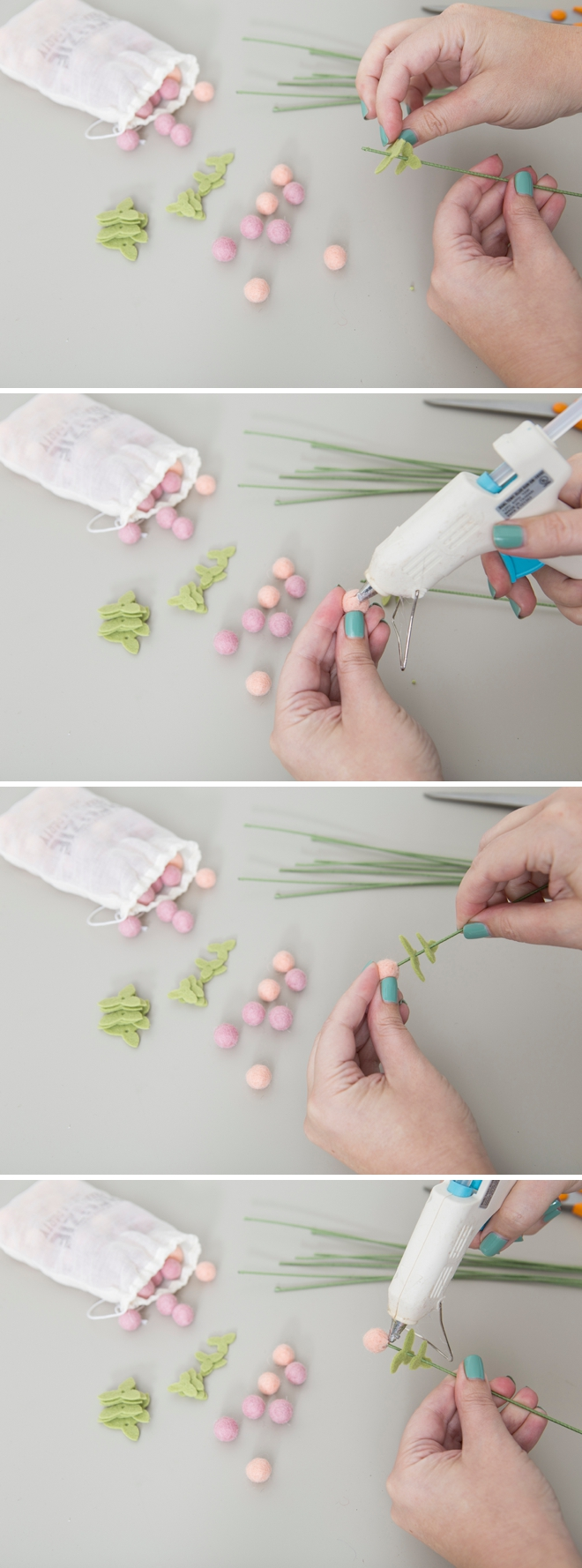 How to make adorable Hypericum Berries out of felt!