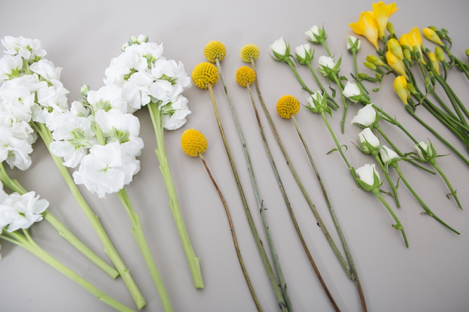 These DIY mini-bouquets are the absolute cutest!