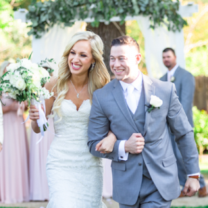 This beautiful California wedding is SO stunning!