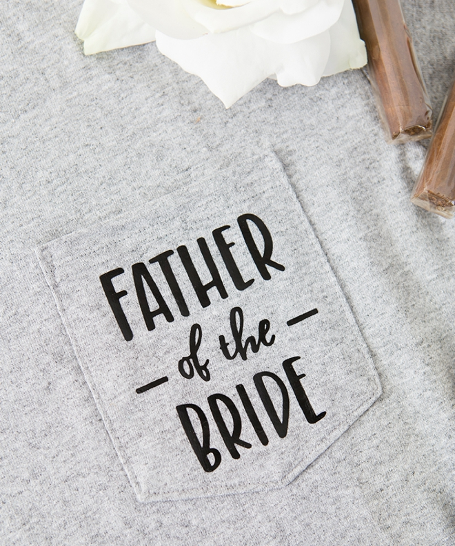 Father of the Bride Shirt by Something Turquoise