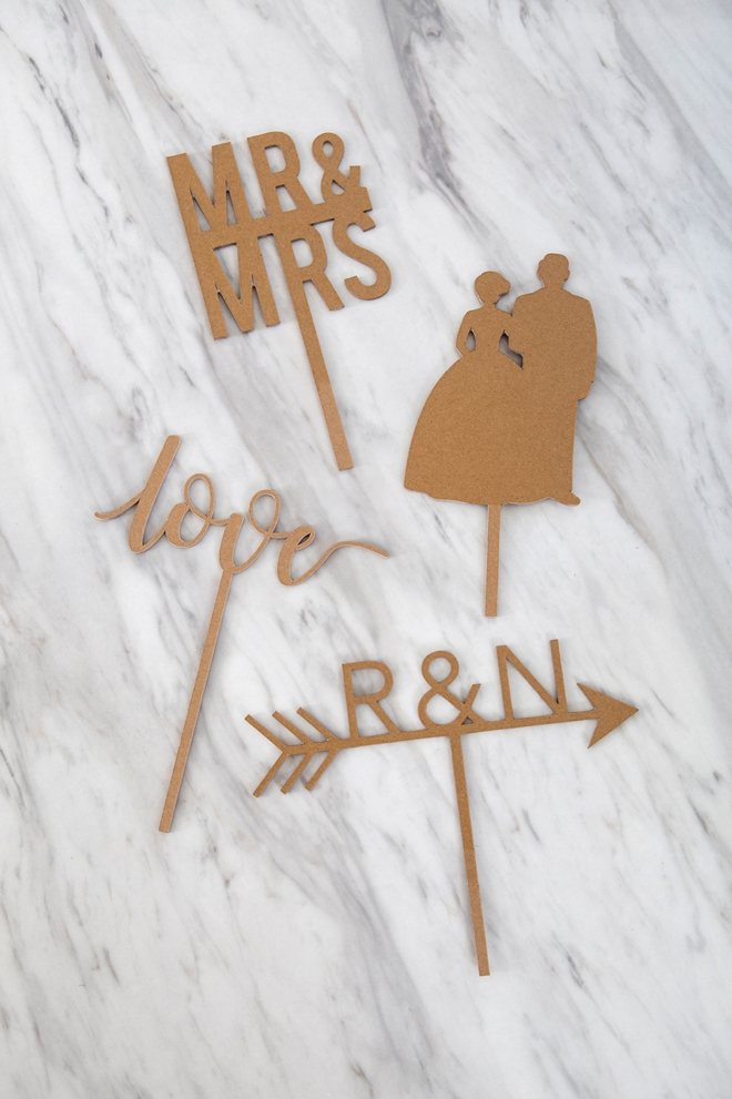 diy wedding cake topper cricut you to see these diy custom chipboard cake toppers 13652