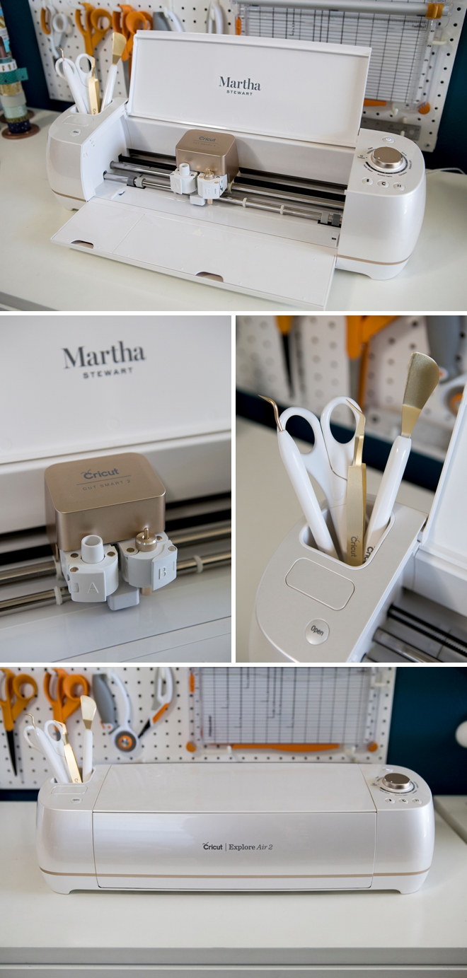The brand new Martha Stewart Cricut Explore Air2!