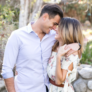 Swooning over this gorgeous couple and their stunning engagement shoot!