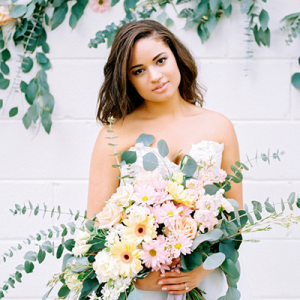 We are SWOONING over this stunning styled wedding at this new Jacksonville venue!