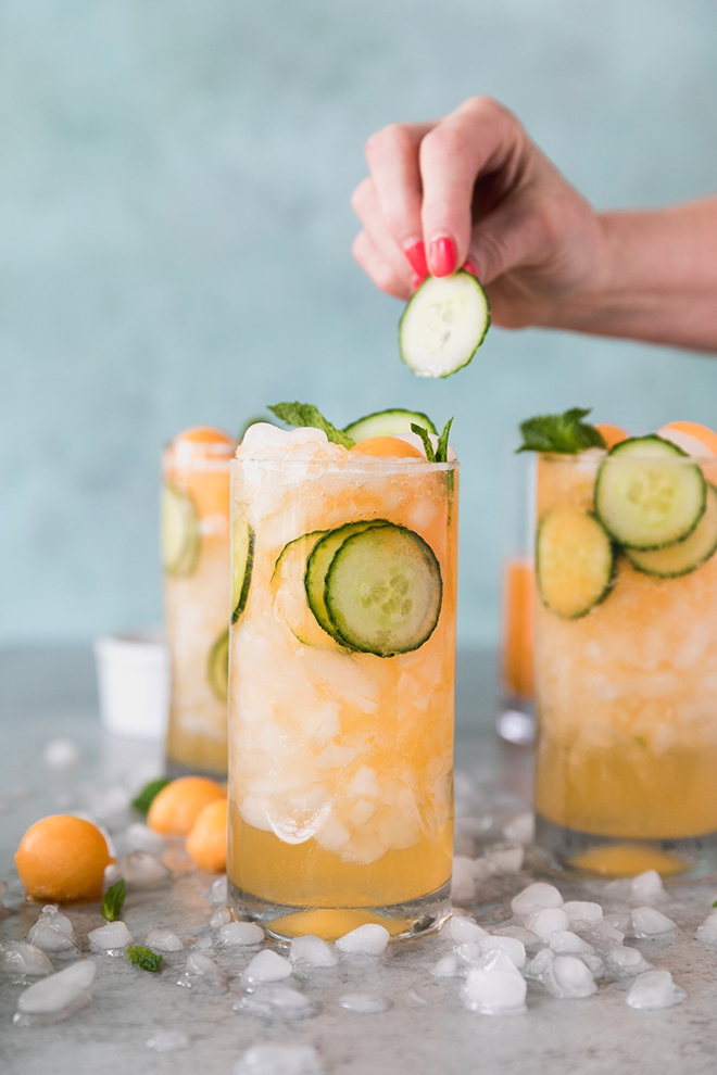 This refreshing and fruity cocktail screams summer
