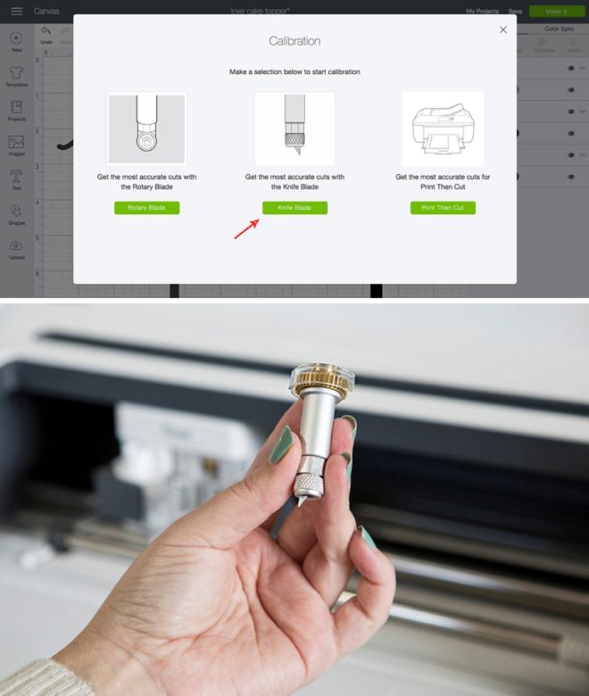 Learn how to use the Cricut Knife blade with your Cricut Maker