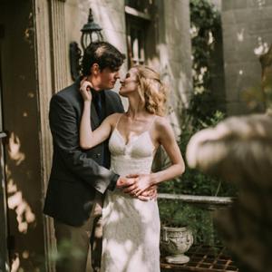How STUNNING is this styled garden bridal shoot?!