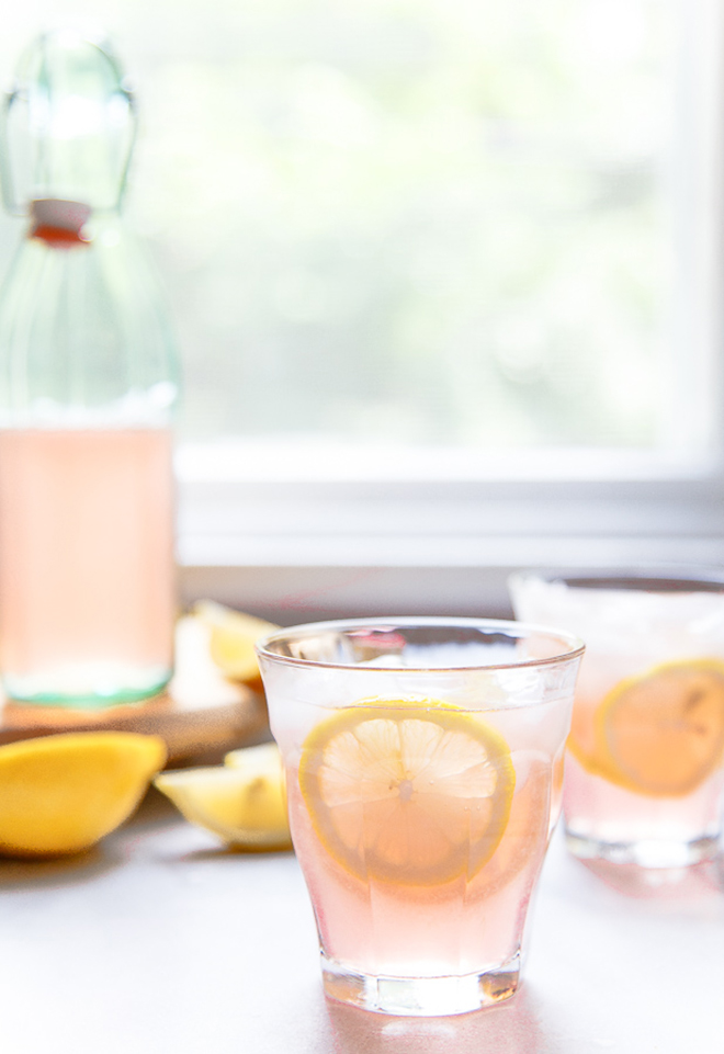 Yes way, rosè (lemonade).
