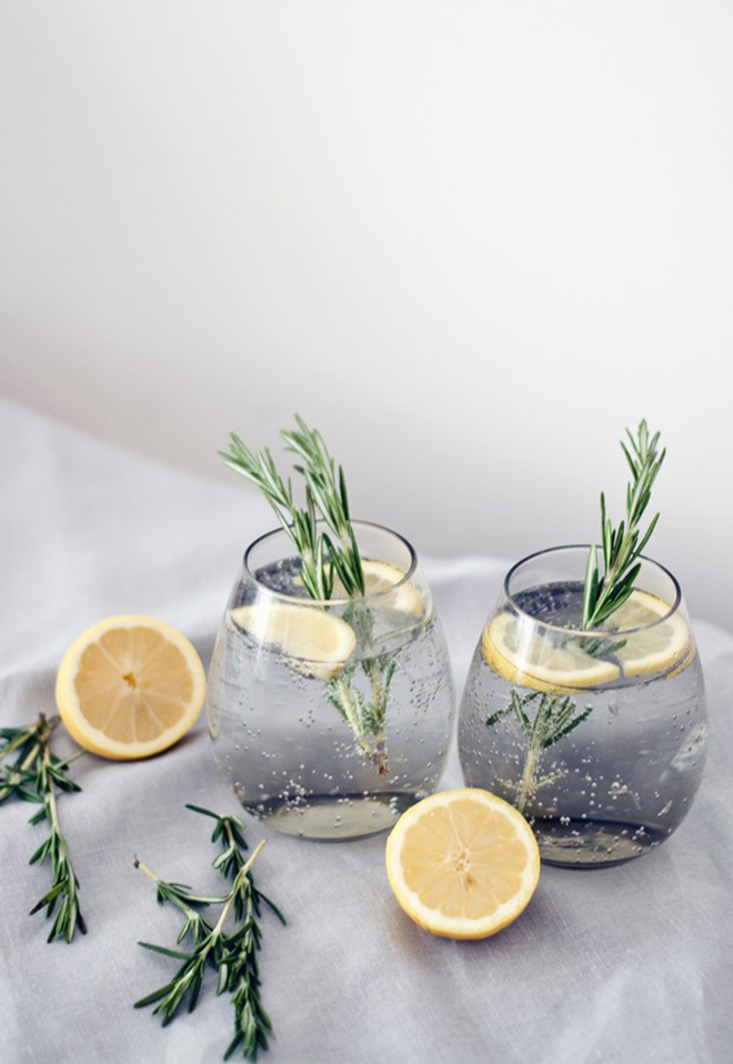 Your guests will love this twist on a classic gin and tonic recipe.