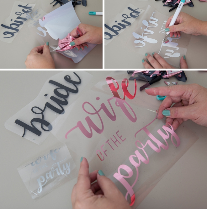 Learn how to DIY your own Bachelorette party swag!