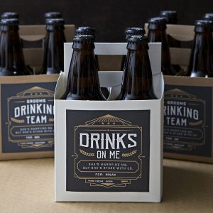Free printable beer gift labels, come and get them!