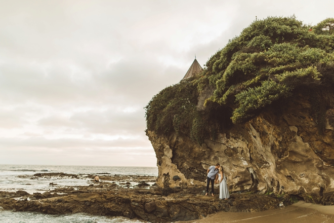 Stunning Laguna Beach maternity shoot by Steve Cowell