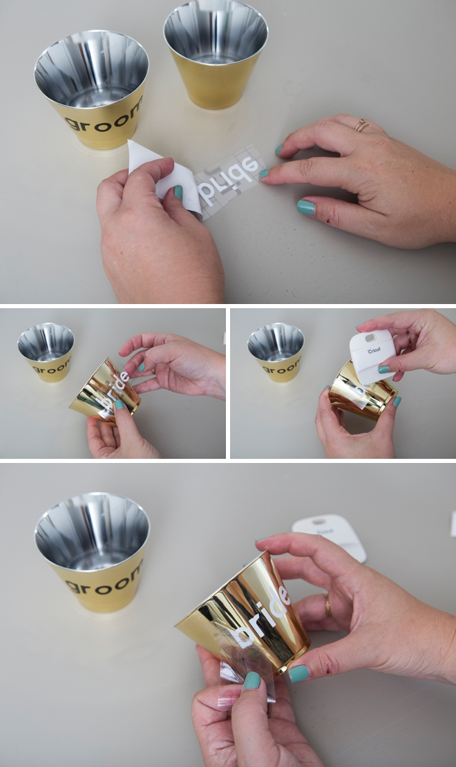 Quick and easy personalized cocktail cups with the Cricu!