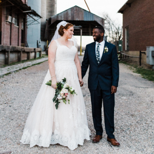 This handmade flour mill wedding has SO many fun DIY aspects! Don't miss it!