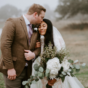 Crushing on this romantic and moody intimate handmade wedding!