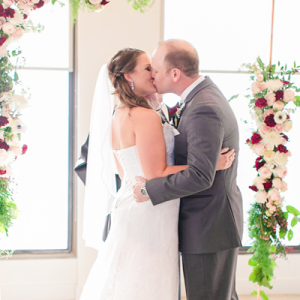 Crushing on this couple's handmade Houston wedding!