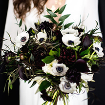Black and white florals forever!