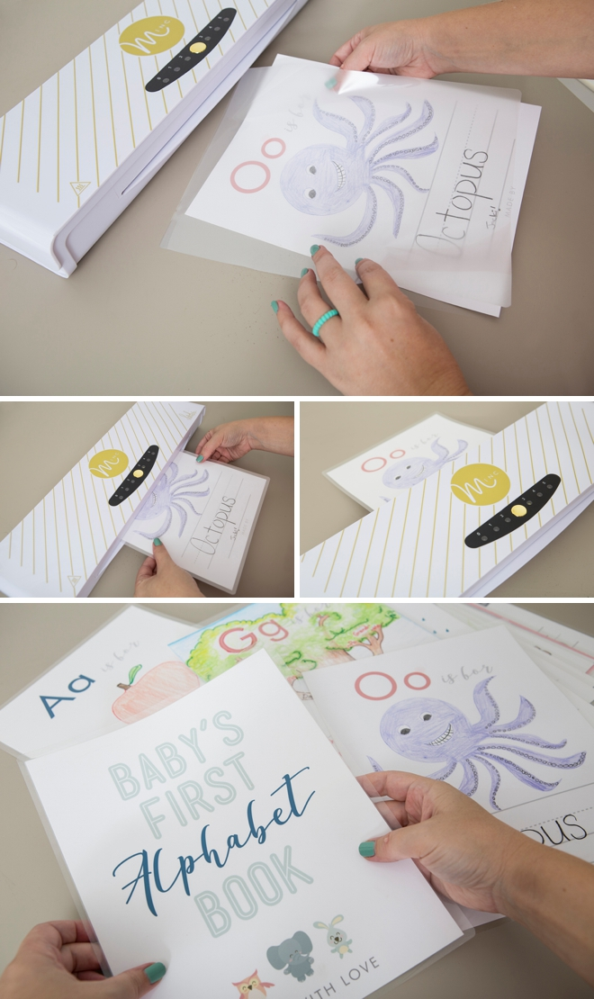 Free printable Baby's First Alphabet and Number Book, great shower idea!