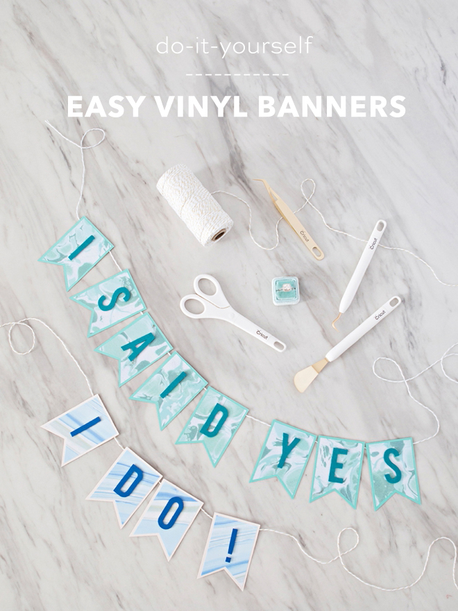 learn how easy it is to make custom banners with cricut