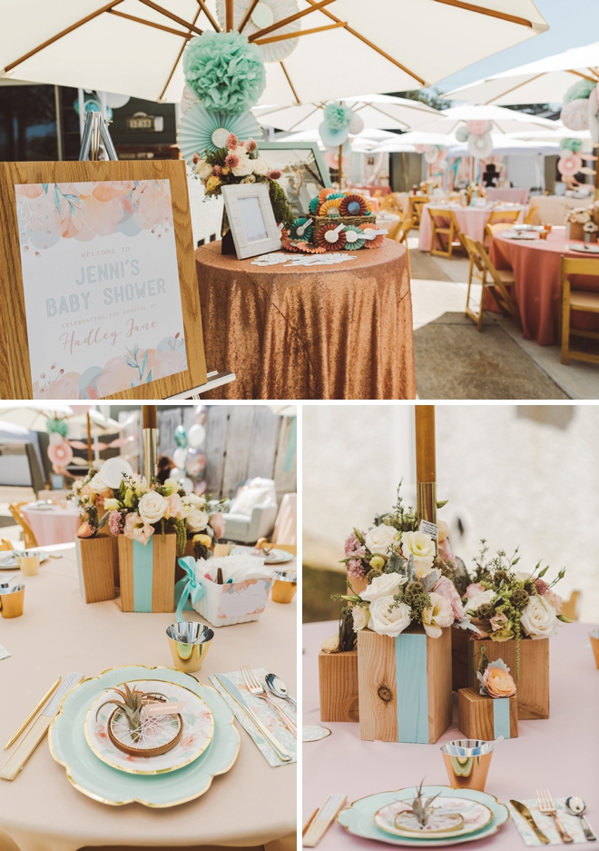 These Diy Wood Block Centerpieces Are Simply Stunning