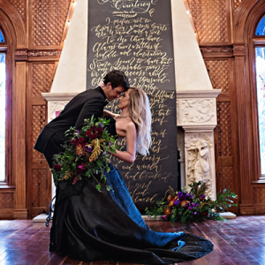 You'll love this styled sleepy hollow inspired wedding on the blog just in time for Halloween!
