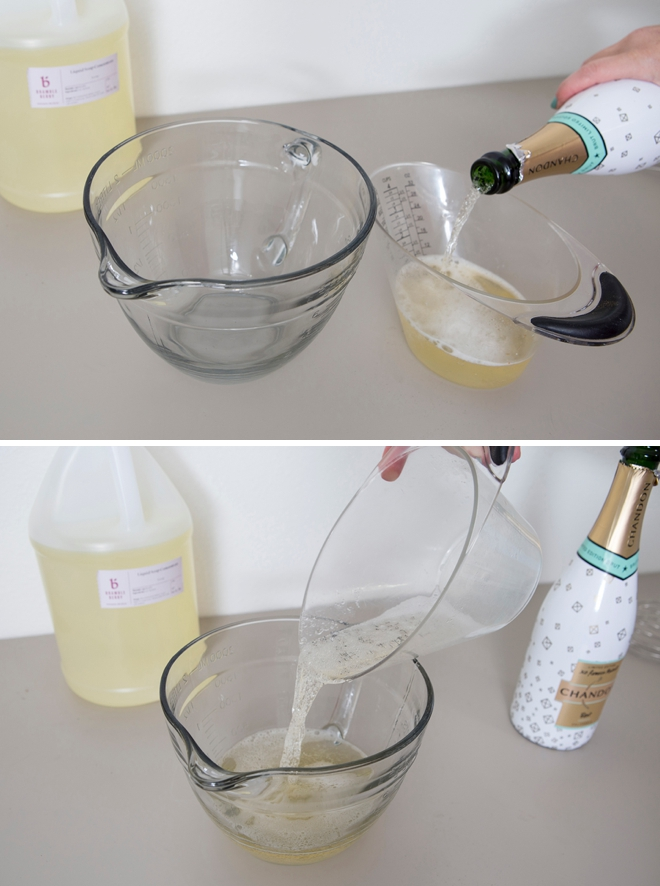 DIY Champagne Bubble Bath, wow how awesome!