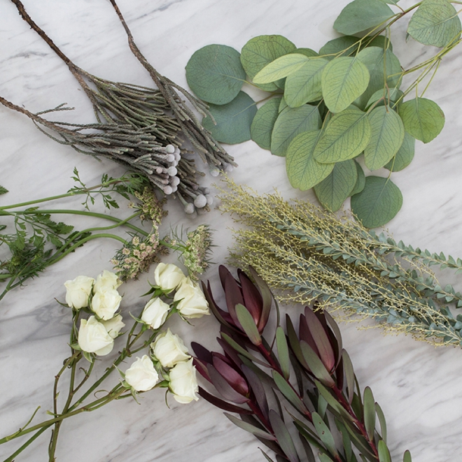 Oxblood and Sage DIY Combo Flower Pack from Fifty Flowers