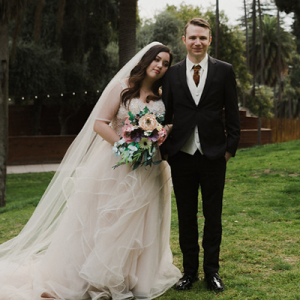 We're loving this super darling and unique DIY wedding on the blog now!