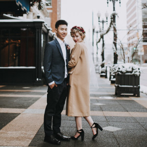We cannot get enough of this couple's gorgeous elopement!