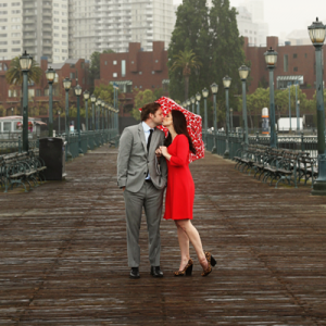 This fun San Fran engagement session is SO adorable! Don't miss out!