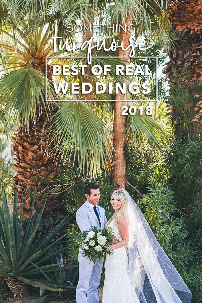 Best of real weddings on Something Turquoise for 2018
