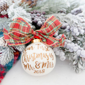 Buying for someone's first married Christmas? We've got you with our top 20 Etsy gift ideas!