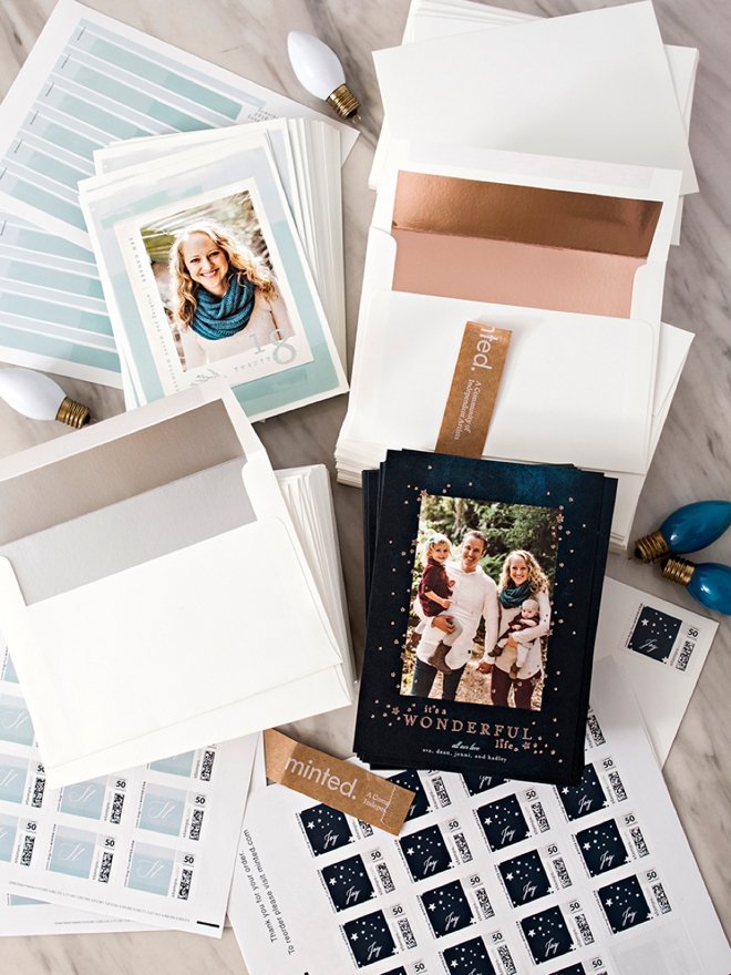 Something Turquoise Holiday Cards by Minted
