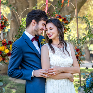 We're swooning over this romantic styled Tuscan wedding!