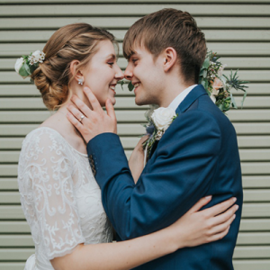 We can't get over this adorable and sweet DIY wedding in the UK!