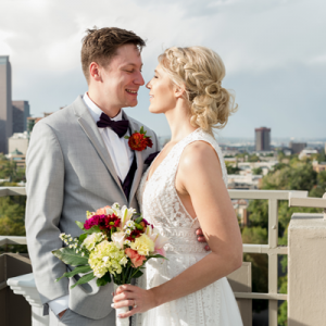 We're in LOVE with this Denver rooftop wedding!