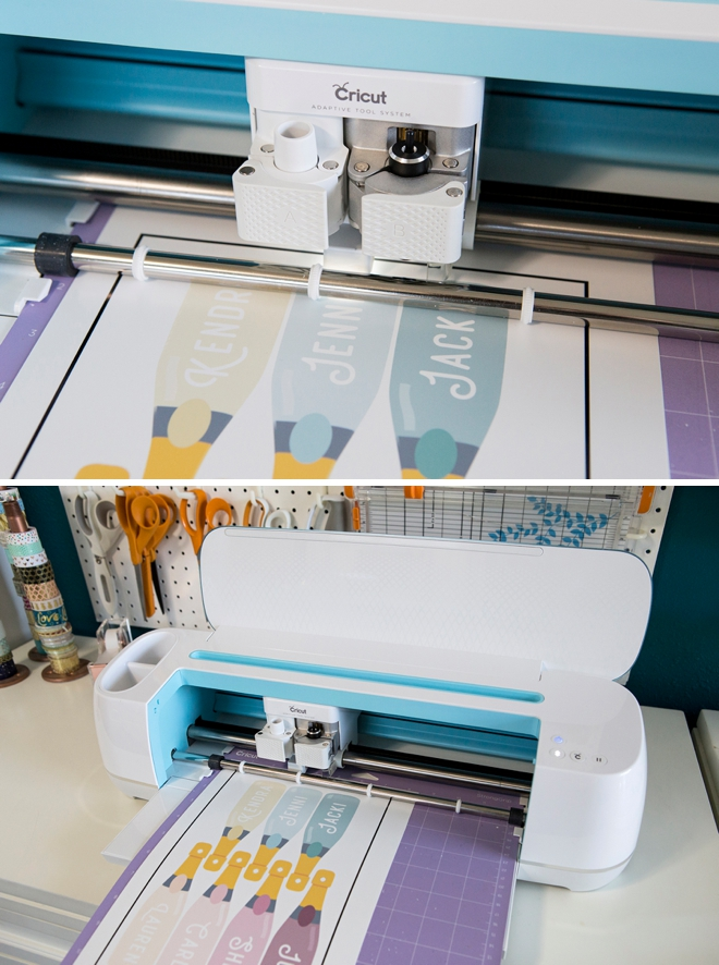 How to do print then cut with your Cricut Maker