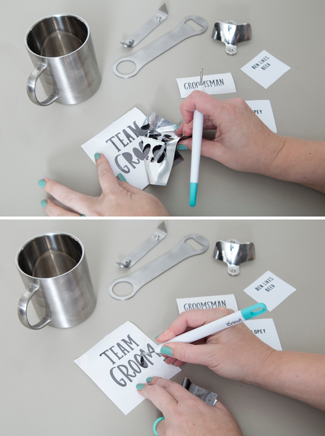 Awesome ideas on personalized stainless steel gifts for groomsmen!
