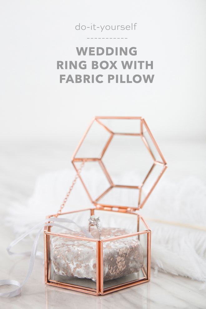 These Diy Hexagon Glass Ring Boxes Are Adorable