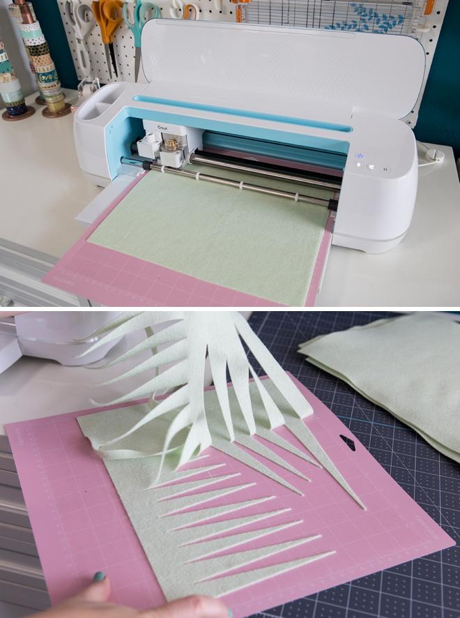 How to cut felt flowers using your Cricut Maker!