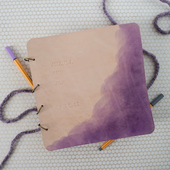 Learn how easy it is to hand dye leather with Rit Dye!