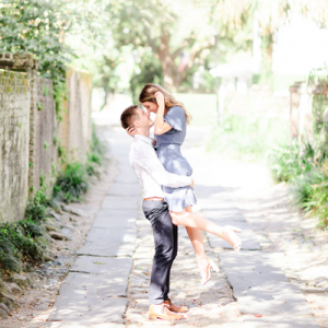 You don't want to miss this stunning engagement session in downtown Charleston!