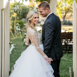 We're in LOVE with this gorgeous styled wedding!