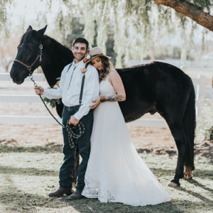 We're in LOVE with this super dreamy styled country wedding on the blog!