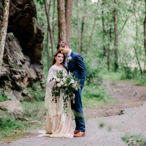Everything about this styled elopement at Gorgeous Styled Elopement at Windsor Mill Ruins is stunning!!