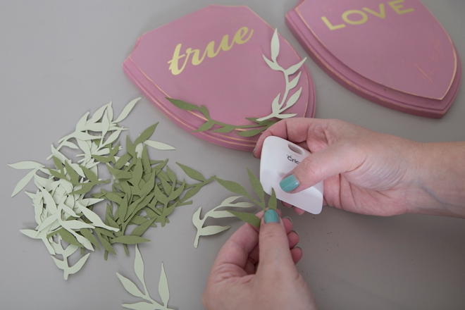 Use your Martha Stewart Cricut Machine to make these beautiful True Love chair signs!