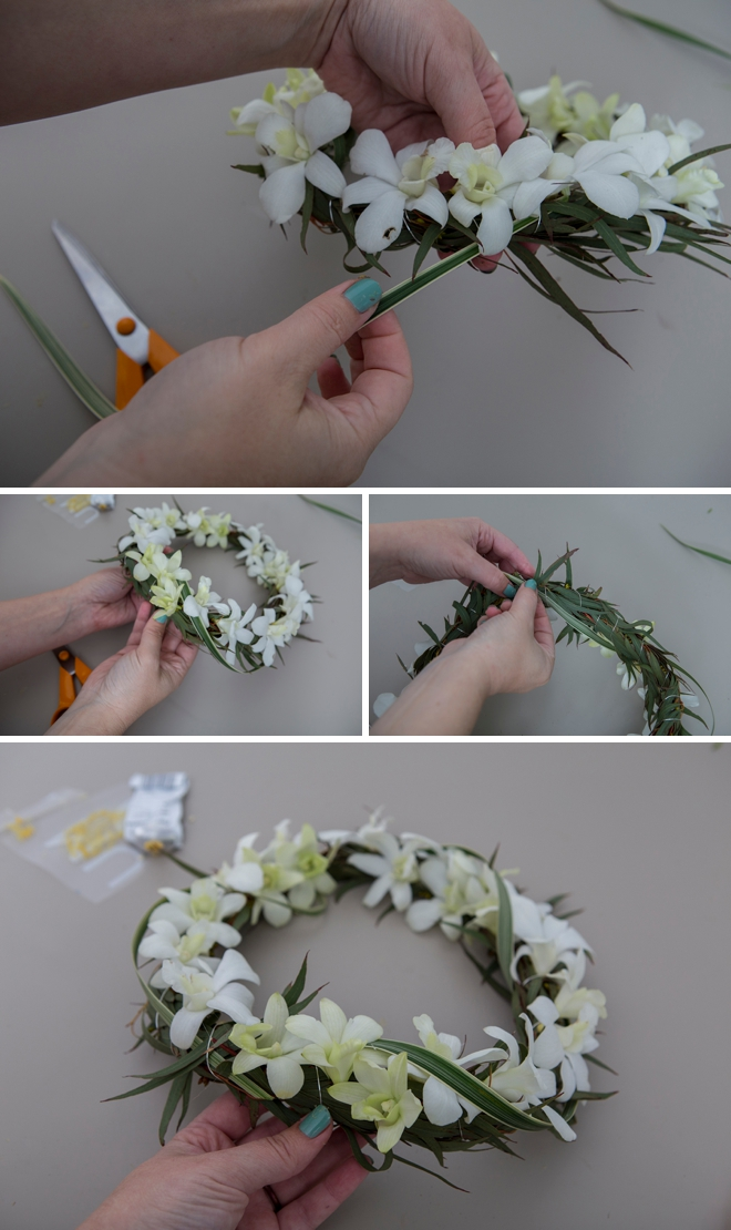 How to make gorgeous flower crowns in three different ways!